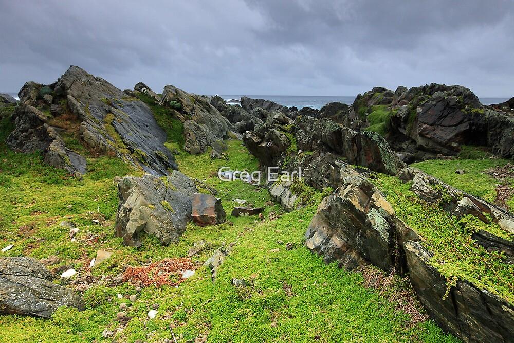 Stormy Seas - King Island by Greg Earl