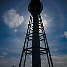 Lighthouse Halo - Currie, King Island,Tasmania by Greg Earl