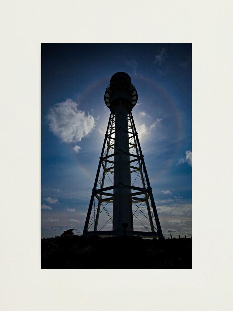 Alternate view of Lighthouse Halo - Currie, King Island,Tasmania Photographic Print