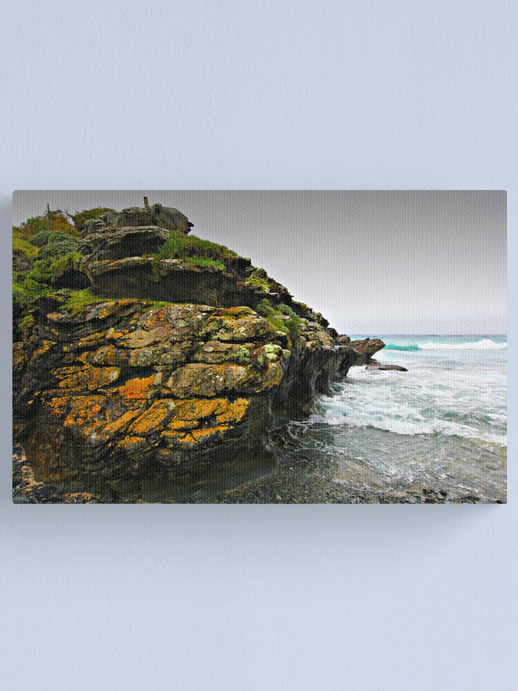 Alternate view of Stokes Point - King Island Canvas Print
