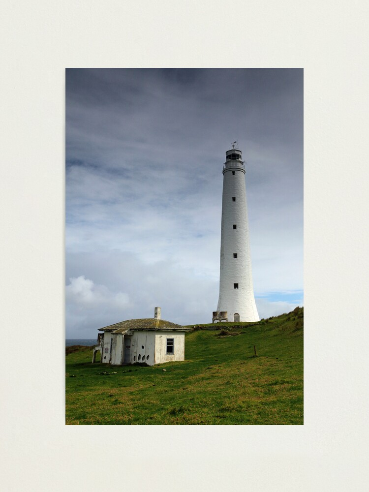 Alternate view of Cape Wickham Lighthouse Photographic Print