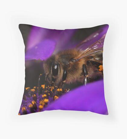 Tucking In ~ Throw Pillow