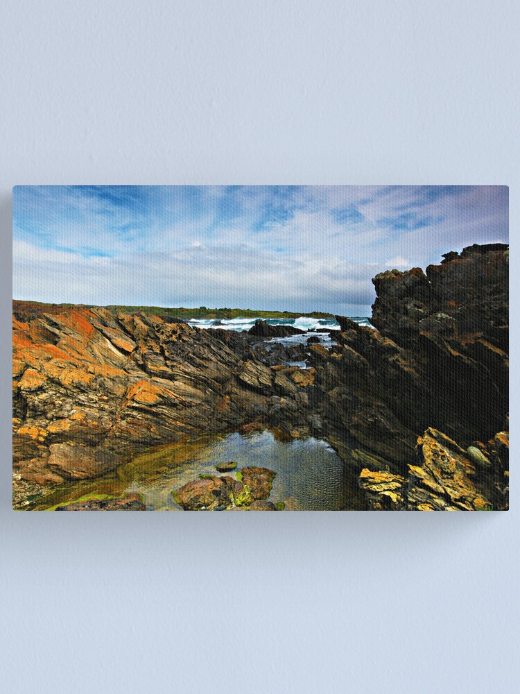 Alternate view of Victoria Cove - King Island Canvas Print