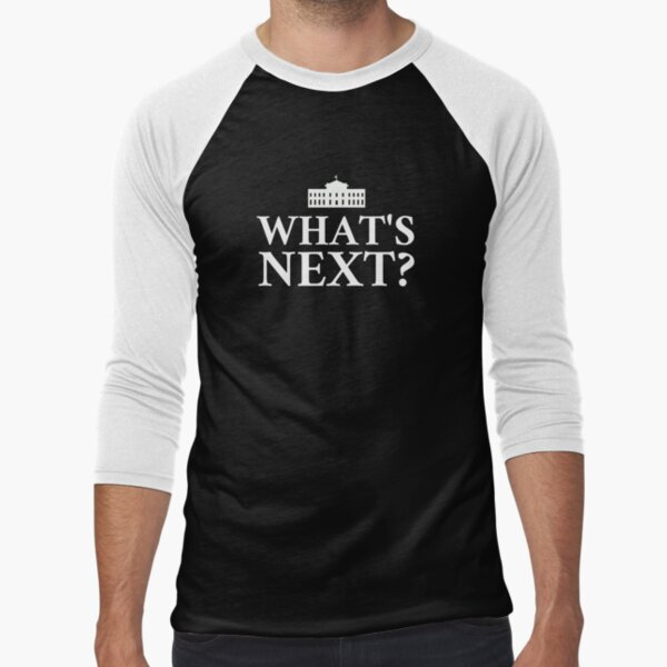 Whats Next? Baseball ¾ Sleeve T-Shirt