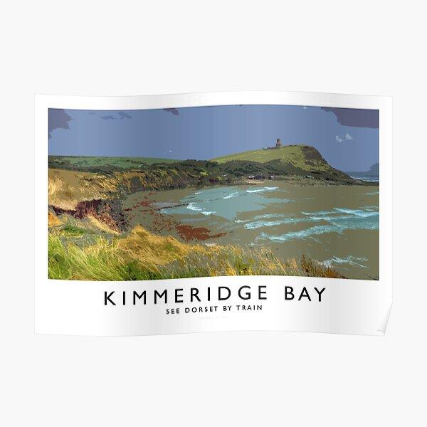 Kimmeridge Bay, (Railway Poster) Poster