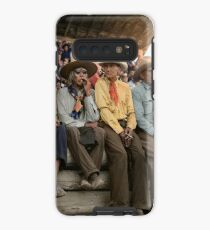 Crow Native Americans watching the rodeo at Crow fair in Montana, 1941 Case/Skin for Samsung Galaxy