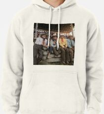 Crow Native Americans watching the rodeo at Crow fair in Montana, 1941 Pullover Hoodie