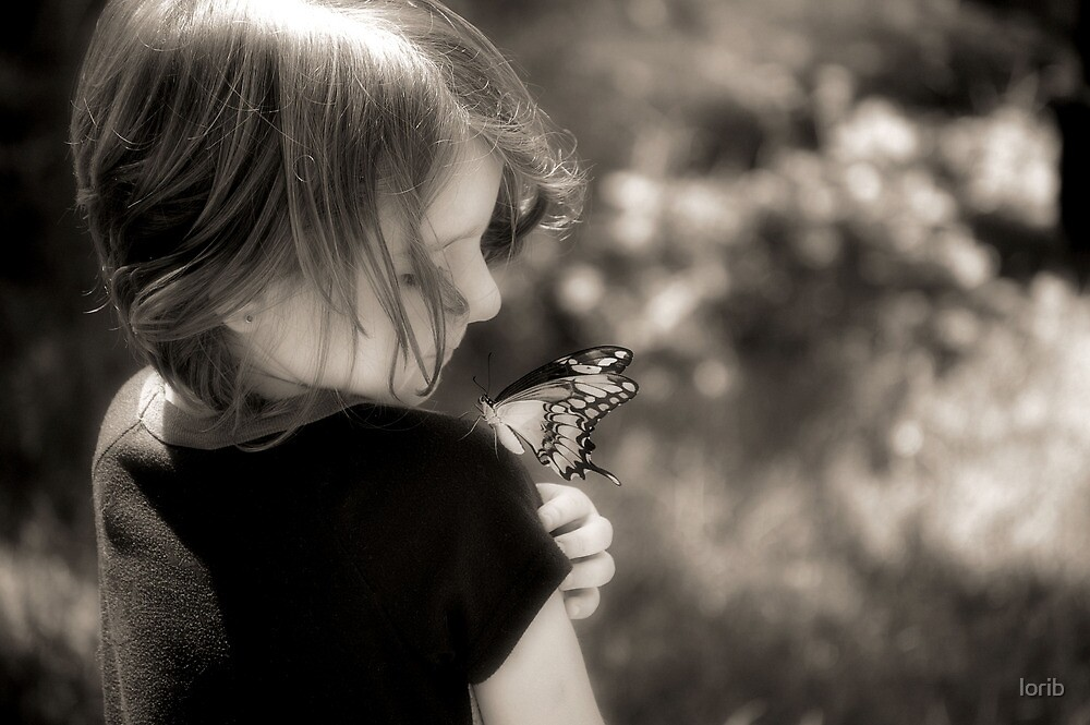 Butterfly Child by lorib