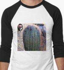 AZ Barrel Cactus Men's Baseball ¾ T-Shirt