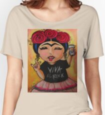 Frida Rocks / Frida Roquera Women's Relaxed Fit T-Shirt