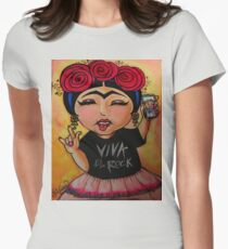 Frida Rocks / Frida Roquera Womens Fitted T-Shirt