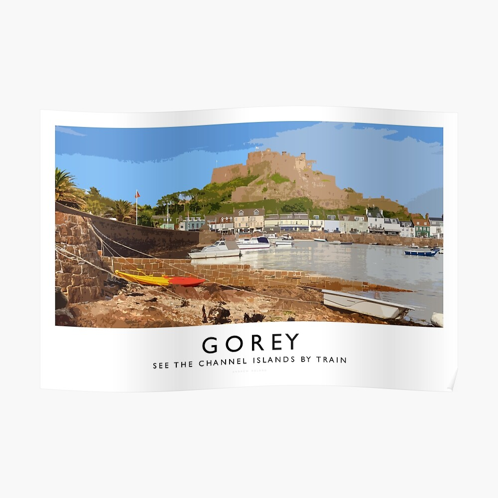 Gorey (Railway Poster) Poster