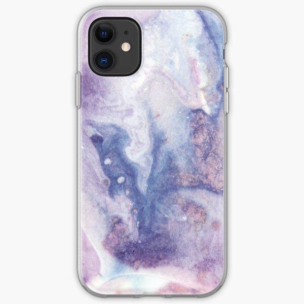 Purple Amethyst iPhone Soft Case