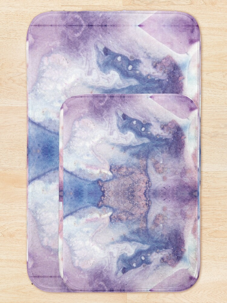 Alternate view of Purple Amethyst Bath Mat