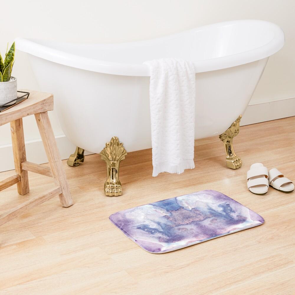 Purple Amethyst Bath Mat