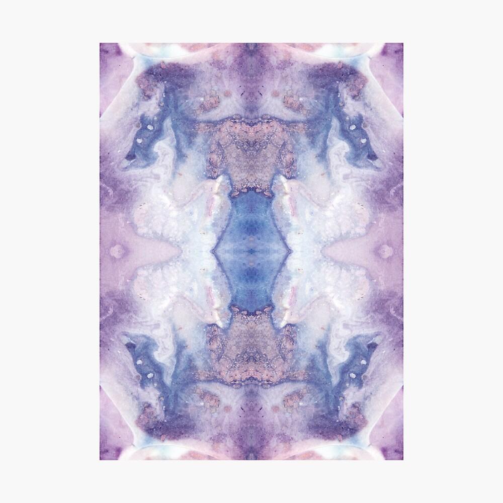 Purple Amethyst Photographic Print