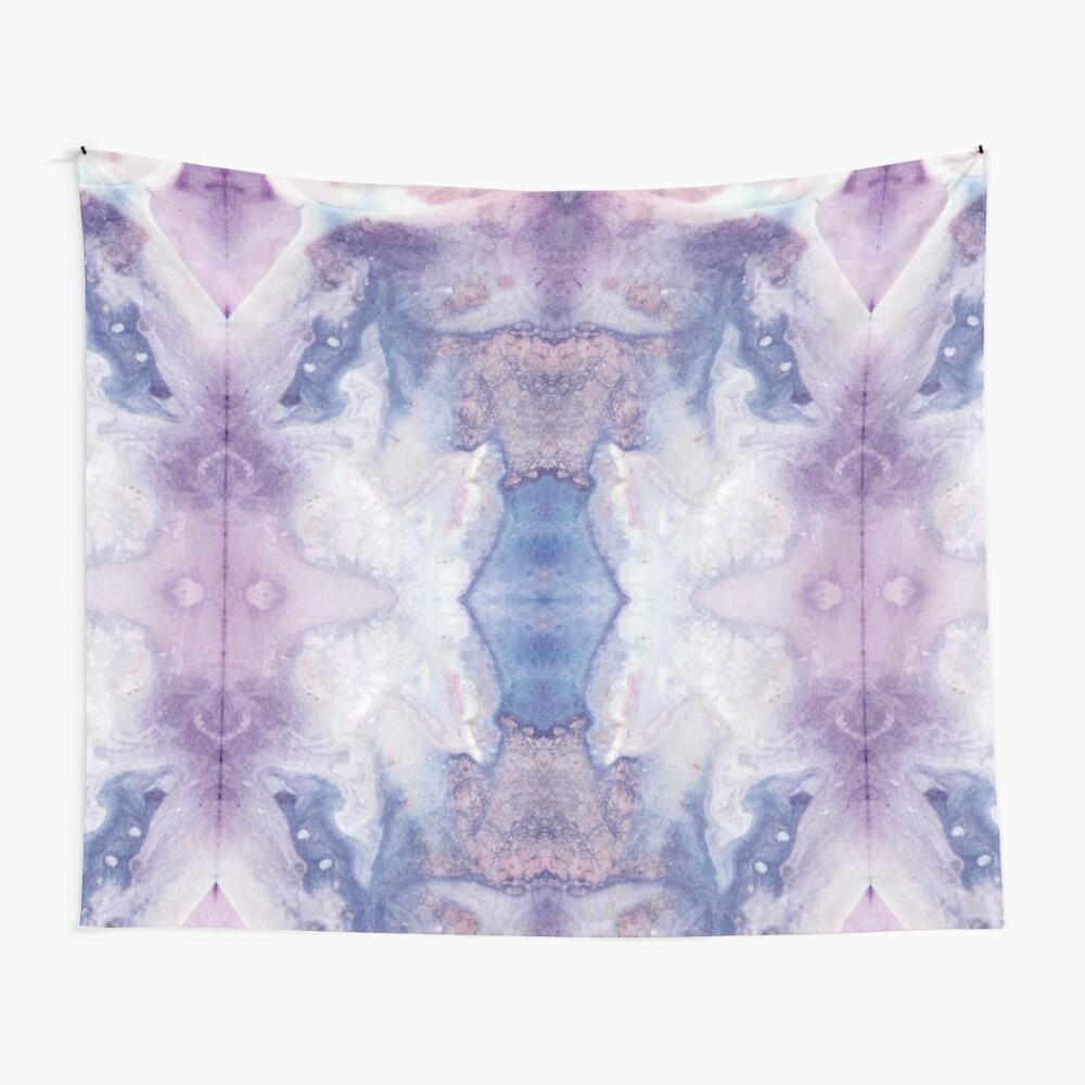 Purple Amethyst Wall Tapestry
