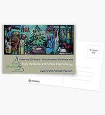Christmas Card - Medieval Christmas Experience (TM) Postcards