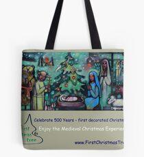 Christmas Card - Medieval Christmas Experience (TM) Tote Bag