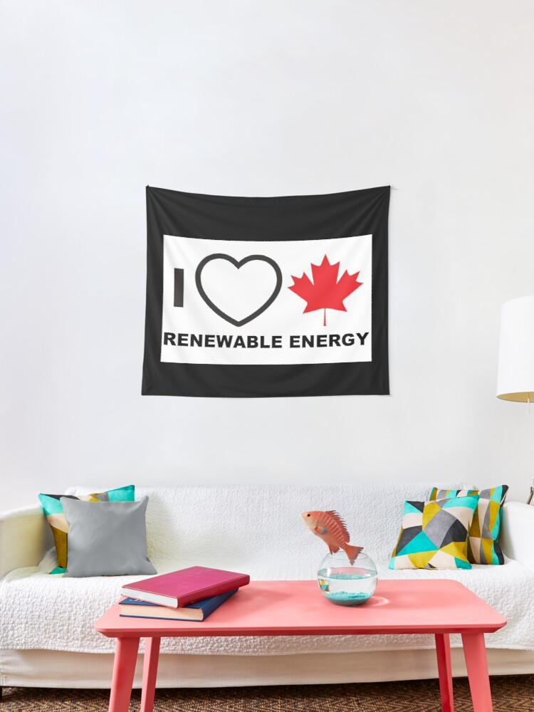 28 cm x 7 cm I LOVE ALBERTA WITH THE CANADIAN FLAG VINYL STICKER