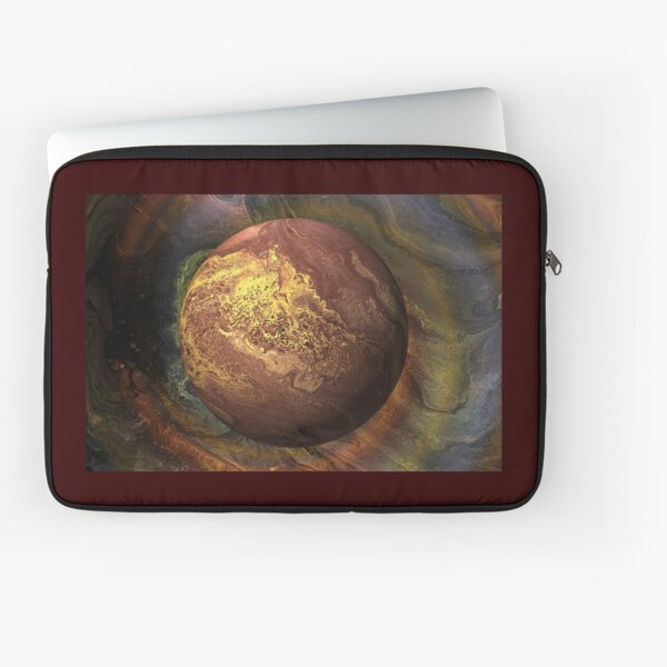 Desert Moon: outer space planet Laptop Sleeve