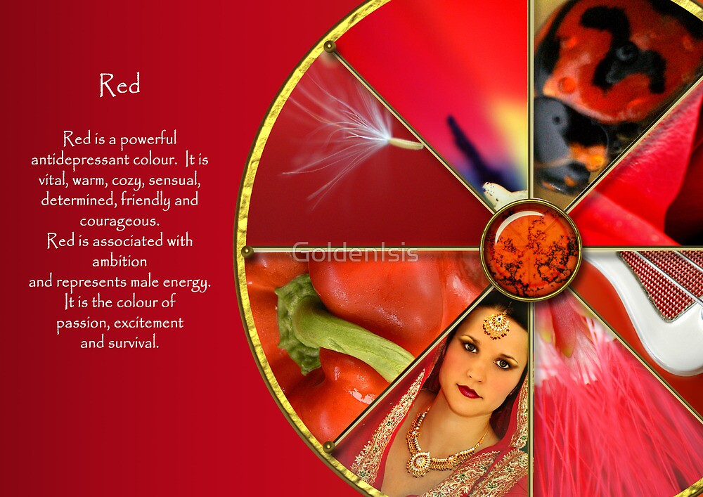 The Colour Red by GoldenIsis