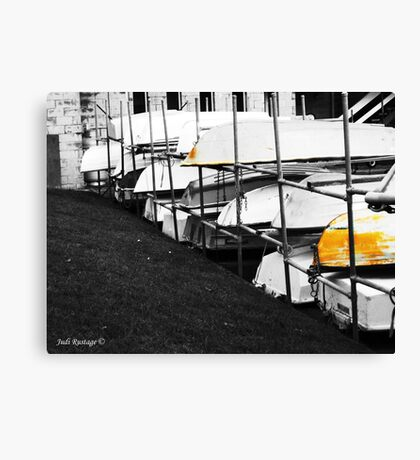 Bottoms Up Canvas Print