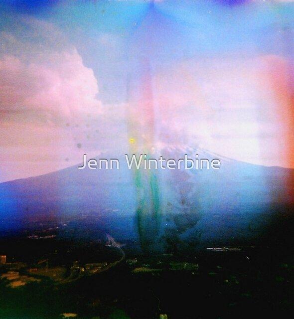 Mount Fuji by Jenn Winterbine