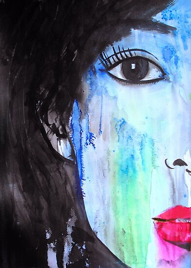 moonlight shadow by Loui  Jover