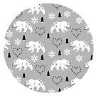 Winter bears  by MiaMeaDesign