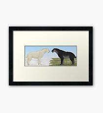 Seasonal Sabertooth Framed Print