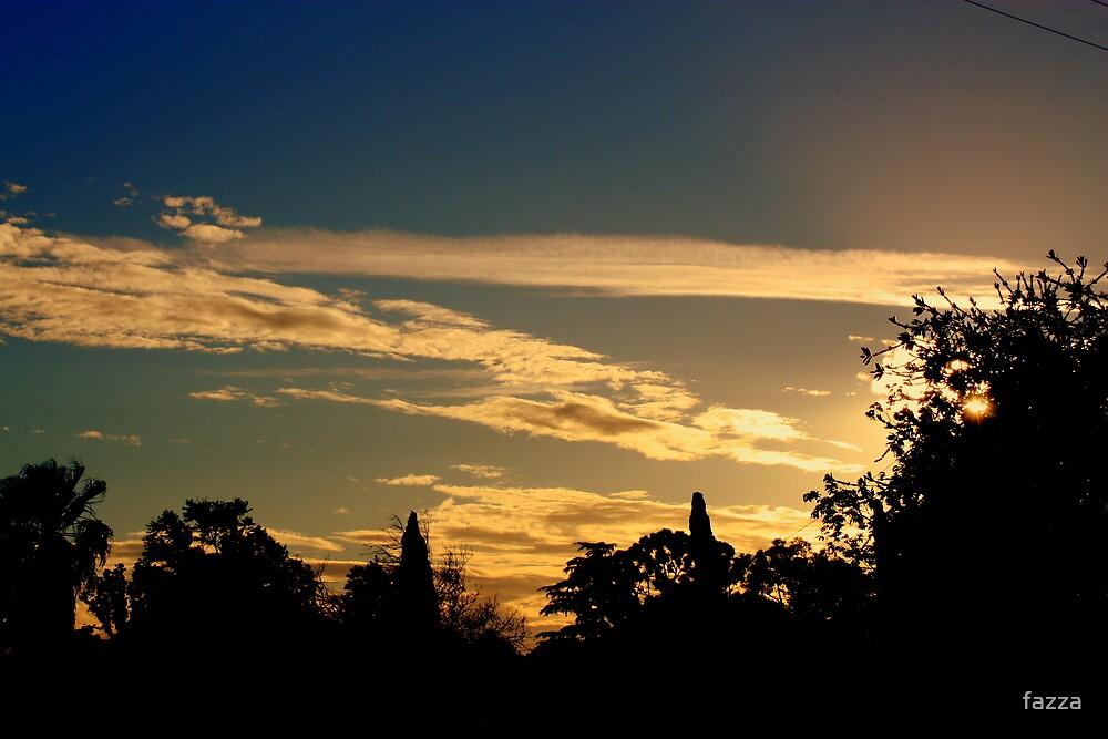 sunset tonight by fazza