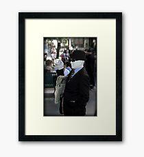 Commuter Framed Print