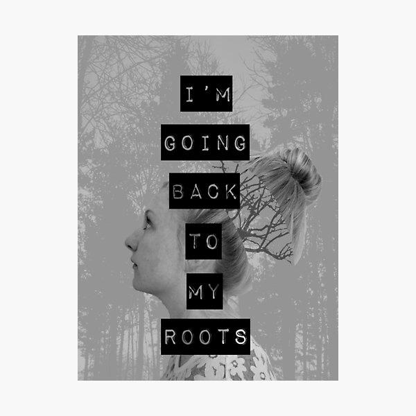 Roots (Black/White) Photographic Print
