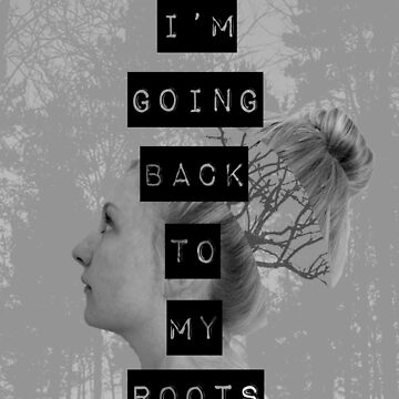 Roots (Black/White) by OhanaReads