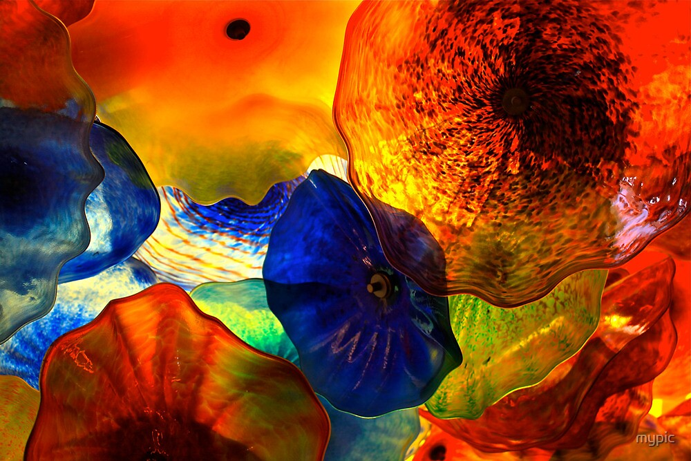 Glass Flowers- Magic ceiling by mypic