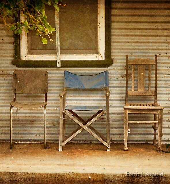 Take a Seat! by Barb Leopold