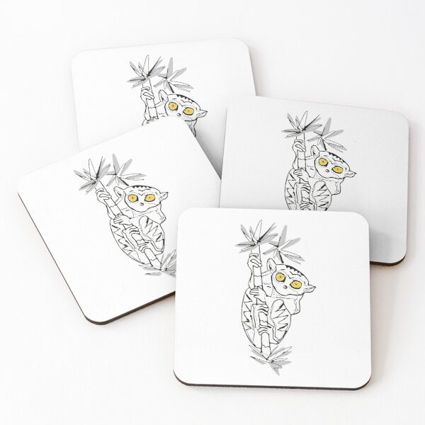 Tarsier Coasters (Set of 4)