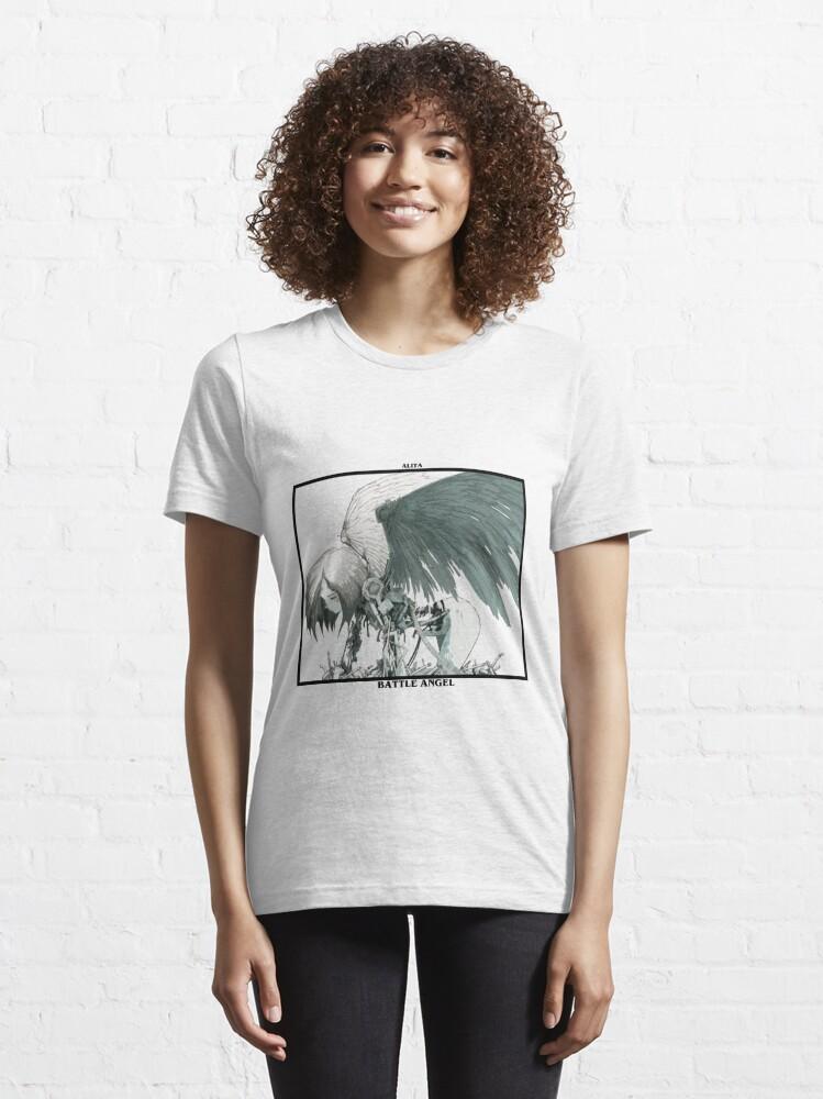 "Alternate view of Alita ""Fallen Angel"" Essential T-Shirt"