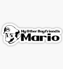 My other Boyfriend is Mario - Nintendo Sticker