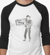 Subterranean Homesick Blues Men's Baseball ¾ T-Shirt