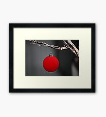 Christmas is simple Framed Print