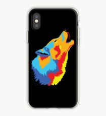 Popart Wolf  iPhone Case