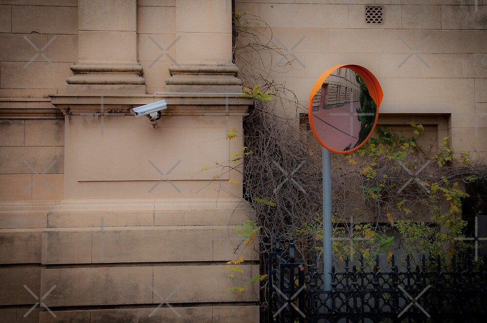 Adelaide Lanes - Security. Lookout. by Clintpix