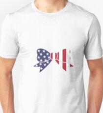 USA Bow Unisex T-Shirt