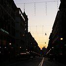 A Street in Rome by minikin