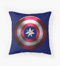 Captain Aus Throw Pillow