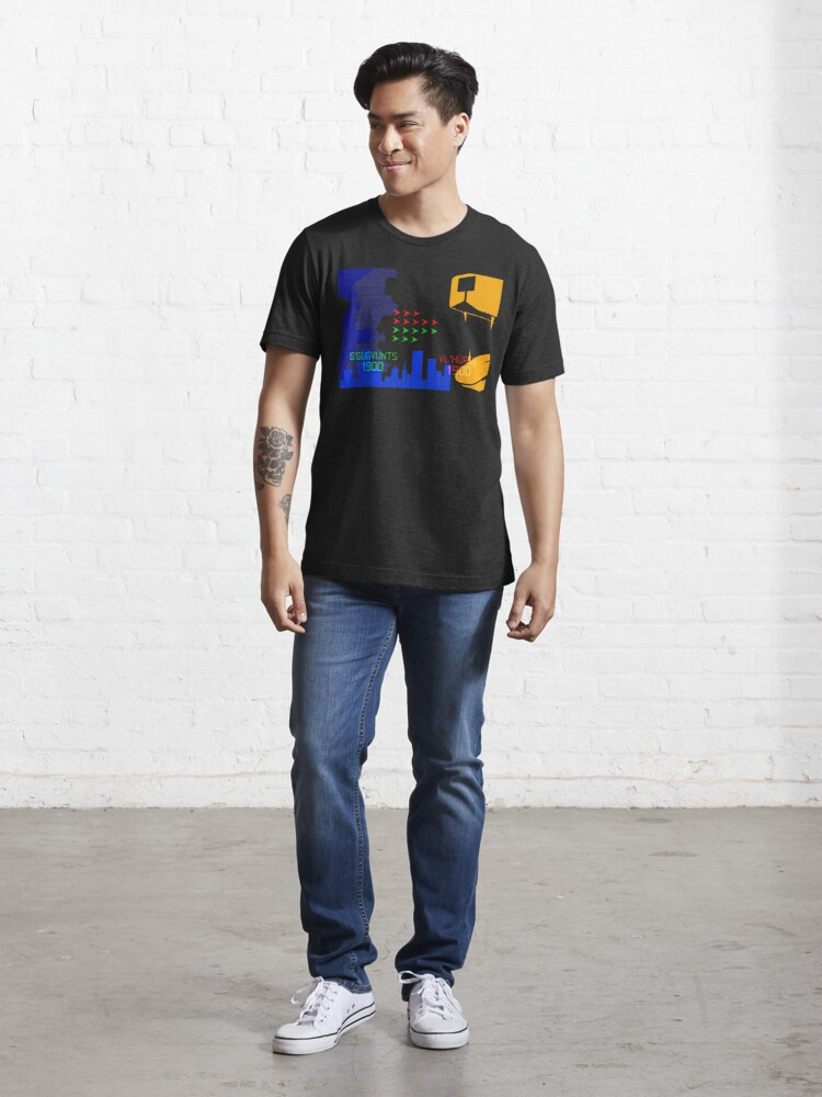 Alternate view of NDVH G'Gugvunts vs Vl'Hurgs vs Dog 1 H2G2 Essential T-Shirt