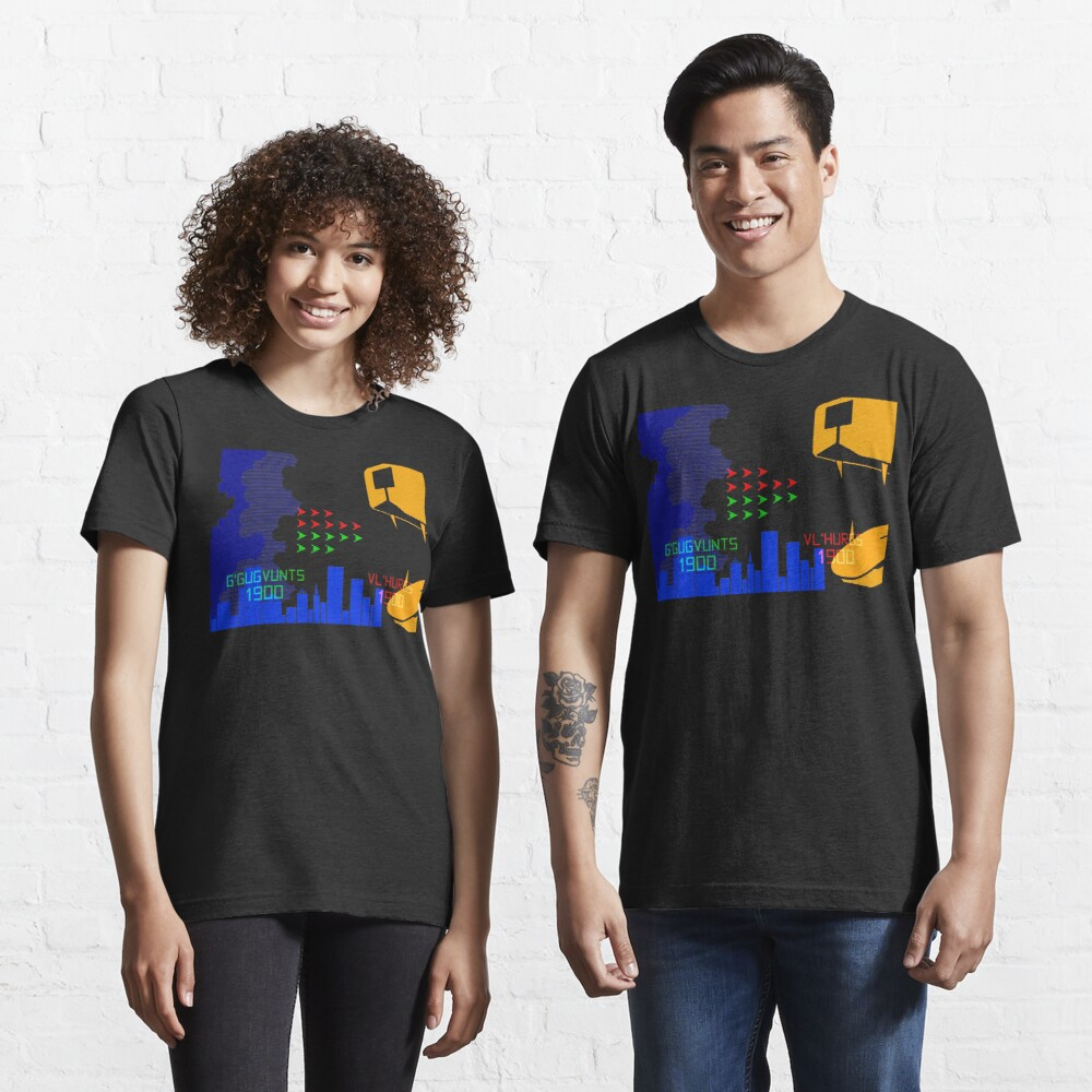 NDVH G'Gugvunts vs Vl'Hurgs vs Dog 1 H2G2 Essential T-Shirt