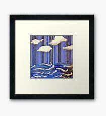 Seascape Escape Framed Print
